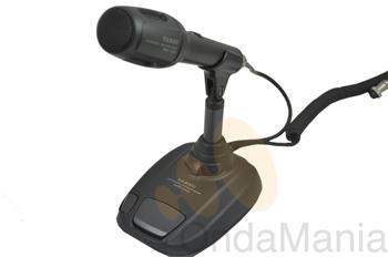 MICOFONO DE MESA YAESU MD-100A8X - Micrófono Yaesu de sobremesa MD-100A8X con una impedancia de 600 Ohm., conector de 8 pins o conector RJ (tipo telefónico).
