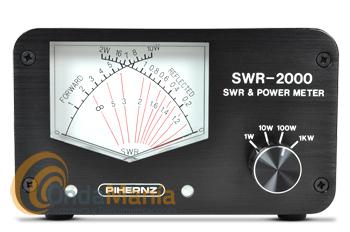 SWR-2000 MEDIDOR DE ROE Y WATIMETRO DE AGUJAS CRUZADAS