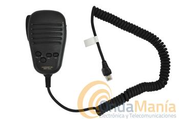 MICROFONO YAESU MH-42C6J - Micrófono Yaesu de repuesto para los equipos móviles Yaesu FT-7800, FT-8800, FT-8900, FT-7100, FT-1500.....