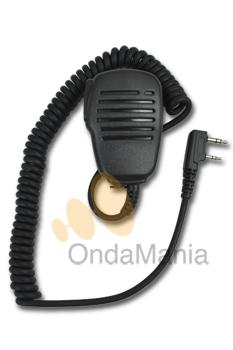 TELECOM / JETFON JD-3602K MICROFONO ALTAVOZ - Micrófono Altavoz de reducidas dimensiones y alta calidad para Kenwood, Alan CT-200, CT-210,... y Kirisum, Dinascan, Baofeng,...