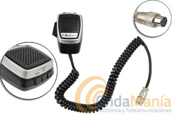 MIDLAND (ALAN) MIKE-MULTI MULTI MICROFONO - Micrófono Midland Alan para equipos móviles de Midland como el Alan 48 Multi, Alan 78 Multi,….