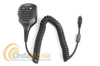 MICROFONO ALTAVOZ CON CAMARA YAESU MH-85A11U PARA LOS YAESU FTM-400D Y FT-1D - Micrófono altavoz con cámara integrada, fácil de utilizar, es compatible con los Yaesu FT1D y el FTM-400D