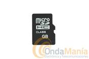 TARJETA MICRO-SD - Tarjetas de memoria Micro-SD con diferentes capacidades, 4GB, 8GB, 16GB,... para mini-cámaras, cámaras de fotos, teléfonos,...