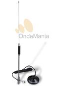 ANTENA CB MAGNETICA MIDLAND 18-244 - La antena Midland 18-244 es una antena de 27 Mhz. con 60 cm de longitud y base magnética.