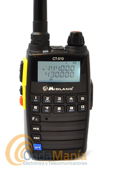 MIDLAND CT-510 WALKIE DOBLE BANDA VHF/UHF - OUTLET - REFURBISHED