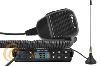 MIDLAND GB1 TRANSCEPTOR MOVIL PMR-446 DE USO LIBRE  - GB1 es compacto, pequeño y tiene un chasis de metal, garantizando durabilidad y robustez. Aunque recuerde a una CB, trabaja con las frecuencias de un PMR466 de uso libre, con la ventaja de no estar afectado por interferencias ni por el ruido del motor del vehículo. Incluye antena magnética.