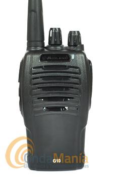 MIDLAND G10 WALKY PMR DE USO LIBRE CON BATERIA Y CARGADOR - El Midland G10 es un PMR de uso libre con 16 canales, batería de litio, cargador rápido, 51 subtonos CTCSS y 83 códigos DCS, es la solución ideal y efectiva en situaciones de trabajo y de ocio que requieren comunicaciones fiables.