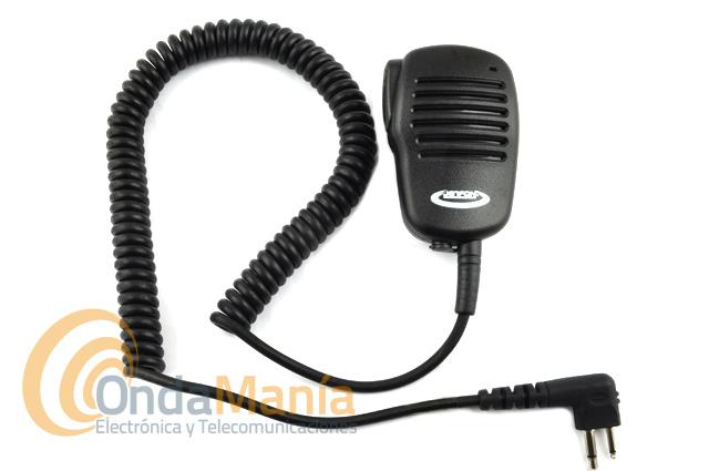 JR-4003 MIC-ALTAVOZ CON TOMA TIPO GP-300, DP-1400, CP-040, DYNASCAN R-58, DA-350, V-600, YAESU,..... - Micrófono altavoz para equipos con conmutación compatible con los Motorola GP-300, CP-040, DP-1400, Kombix RL-120, Dynascan V-600, DA-350, R-58, Yaesu FT-25, FT-65, FT-4XE, FT-4VE,...