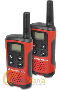 MOTOROLA TLKR T40 - El Motorola TLKR T40 es un transceptor PMR de uso libre ligero y de dimensiones reducidas. El Motorola TLKR T40 incluye: clip de cinturón, manual de usuarioy un diseño muy innovador.