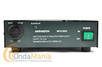 MIRMIDON MPS2025 FUENTE DE ALIMENTACION CONMUTADA 23/25 AMP.