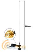 MR-73SJ ANTENA DIAMOND MAGNETICA DOBLE BANDA ORIGINAL CON SMA INVERTIDO - Antena doble banda VHF/UHF (144 MHz y 430 MHz) magnética con rotula orientable y conector SMA invertido, ideal para los walkys fabricados en China.