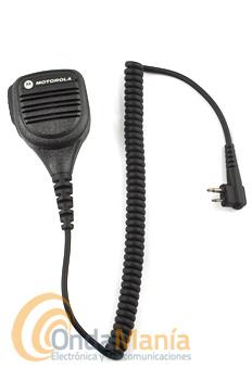 MICROFONO ALTAVOZ MOTOROLA PARA GP-300, CP-040, DP-1400, KOMBIX RL-120, DYNASCAN V-600,...