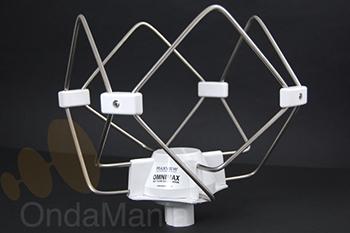 OMNIMAX ANTENA PARA TV CON RECEPCION 360º COMPATIBLE CON TDT - Antena de alta caliad para TV compatible con TDT ideal para vehículos, autocaravanas, embarcaciones, camiones,.... preamplificada, válida para 12 y 24 V.