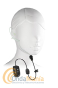 MIDLAND WA-31 MICRO-AURICULAR BLUETOOTH - Micrófono auricular acústico y transparente con auricular de tubo de aire inta-auditivo y PTT, requiere el Midland WA-Dongle o el WA-Dongle K.