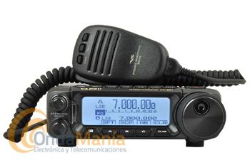 YAESU FT-891 TRANSCEPTOR TODO MODO HF Y 50 MHZ, 100 W DE POTENCIA - Oferta hasta fin de stock!!. El Yaesu FT-891 es un transceptor todo modo de HF y 50 Mhz con 100 W de potencia, con un gran LCD de matriz de puntos con alcance de espectro rápido, facilidad de manejo, triple conversión, filtro de techo de 3 kHz incluido,...