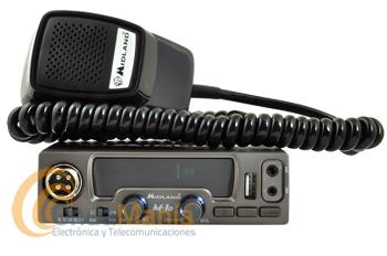 MIDLAND M-10 EMISORA DE BANDA CIUDADANA CON USB Y TOMA PARA PINGANILLOS - Midland nos presenta un gran y revolucionario equipo de banda ciudadana: el Midland M10, este equipo aparte de disponer de 40 canales en AM y FM nos ofrece un conector frontal USB para cargar teléfonos, tablets, cámaras,..., también nos ofrece un conector frontal de doble pin para conectar pinganilos con cable o pinganillos Bluetooth.