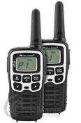 MIDLAND XT-50 PAREJA DE PMR-446 DE USO LIBRE - La pareja de PMR-446 de uso libre Midland XT-50 incluyen grandes funciones y accesorios como bateríasde Ni-Mh, cargador doble de sobremesa a través de USB, 24 canales, tonos CTCSS, economizadorde batería, timbre de llamada, VOX,......