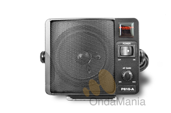 P-810A ALTAVOZ DIAMOND (ORIGINAL JAPON) DE ALTA CALIDAD - Altavoz Diamond supletorio para walkys y emisoras con amplificador, conmutador on-off y control de volumen.