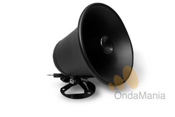 TELECOM PA - El Telecom PA es un altavoz exterior exponencial de color negro.