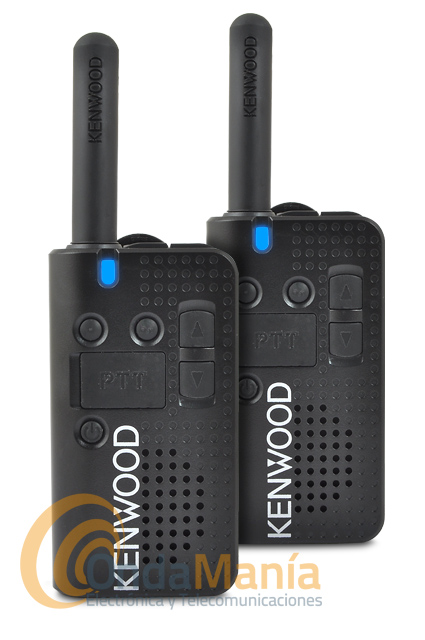 PAREJA DE KENWOOD PRO-TALK LT PKT 23 WALKI-TALKIES DE USO LIBRE+2 PINGANILLOS DE REGALO