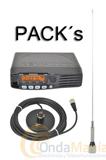 PACKs KENWOOD TM-281E TRANSCEPTOR MOVIL CON ACCESORIOS - Ofrecemos dos Pack´s diferentes con el Kenwood TM-281E, el pack 1 esta compuesto por una antena de 1/4 con base magnética y el pack 2 incluye antena de 5/8 con base magnética.