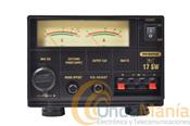 FUENTE DE ALIMENTACION PC-17SW - Fuente de alimentación estabilizada DC ajustable y conmutada de 15 a 17 Amp.