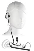 MIDLAND MA-21LI - Midland MA-21LI micrófono auricular ergonómico con cable rizado ideal para el Midland G7, G8, G9, G5,... Tambien en compatible con el Wintec LP-4502.