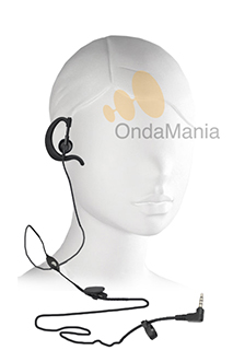 MA-1704 MICROFONO AURICULAR PARA DYNASCAN AD-09 Y YAESU - Micrófono auricular (pinganillo) original compatible con el Dynascan AD-09 o Yaesu VX-110, VX-150, FT-250