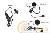 PACK BHS-300K PARA USAR EQUIPOS CON CONMUTACION KENWOOD EN MOTOS - Con estos packs podemos utilizar un walky Kenwood, Dynascan, Midland,... o cualquier walky con conexón de micro-auricular tipo Kenwood con la mayoria de cascos de motos o con un intercomunicador Midland tipo BT, BT1, BT2, BTX1, BTX2, BT-Next,...