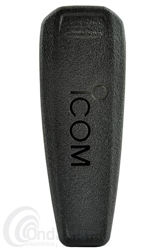 ICOM MB-124 CLIP DE CINTURON PARA LOS ICOM IC-M23, IC-F3002, IC-F4002,...