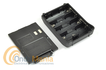 KENWOOD BT-13 - El Portapilas KENWOOD BT-13 (4XAA) es para el TH-F7.