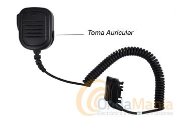 MICRO ALTAVOZ PARA MOTOROLA MTP-850 - Micrófono altavoz para Motorola MTP-850