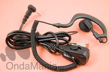 MICROFONO AURICULAR JD-30TA288R VOX - Micrófono auricular para PMR Motorola con función VOX