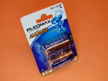 PILA SAMSUNG R-14 C BLISTER CON DOS PILAS - Pila Samsung alcalina R-14 C blister con dos pilas