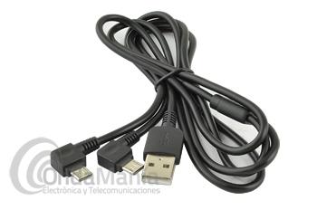 CABLE DE CARGA USB DOBLE A MICRO USB PARA LOS MIDLAND DE LA SERIE PRO