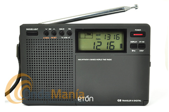 eTON TRAVELER II DIGITAL G8 RADIO MULTIBANDA