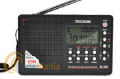 TECSUN PL-505 RECEPTOR FM ESTEREO, SW, MW, LW CON DEMODULACION DIGITAL DSP - Receptor portátil digital multibanda con demodulación digital yconFM Estereo/SW/MW/LW, 550 memorias, termometro, reloj digital, despertador, función sleep,...