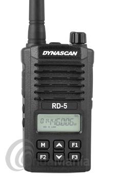 DYNASCAN RD-05 PMR446 DE USO LIBRE CON PINGANILLO DE REGALO