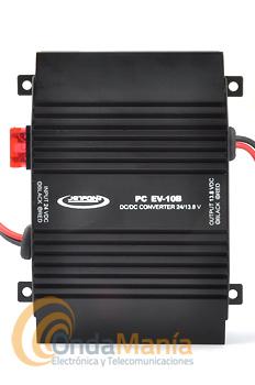 REDUCTOR PC EV-10B - Reductor de tensión PC EV-10B de 24 a 12 V.C.C. con una intensidad máxima de 10 Amperios