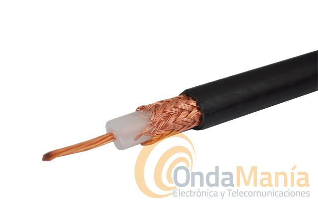 Retal de 27 mts de cable rg 213 cable coaxial de baja - Cable coaxial precio ...