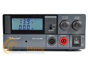 FUENTE DE ALMENTACION DIGITAL Y REGULABLE TELECOM RPS-1230SWD - Fuente de alimentación conmutada con instrumentos: amperímetro y voltímetrodigital y regulable. Tiene una intensidad de 20Amp. continuos y 30 Amp. de pico, dispone de tomas de alimentación trasera y delantera.