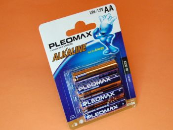 R-6 BLISTER DE 4 PILAS ALCALINAS PLEOMAX SAMSUNG
