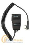 KENWOOD SMC-32 - Micrófono altavoz Kenwood SMC-32 de reducidas dimensiones para portátiles (TH-K2E, TH-K2ET, TH-F7, TH-D7E, etc.).