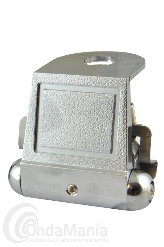 KF-200 SOPORTE DE VIERTEAGUAS O CANALILLO PLATEADO Y ARTICULADO - Soporte de vierteaguas o canalillo articulado y plateado para antena