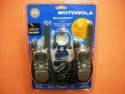 """MOTOROLA T-5622 PACK - La pareja de PMR MOTOROLA T-5622 PACK incluye baterías, cargador, pinganillos y carcasas intercambiables y es la solución """"sofisticada"""" para sus momentos de ocio en cualquier terreno."""