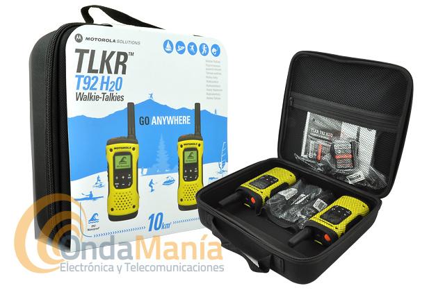 Motorola hablan del T92 H20 Twin Pack Con Cargador