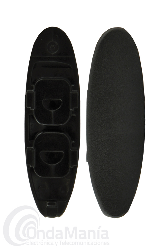 TAPA CIEGA DE TOMAS CP/MIC PARA EL KENWOOD TK-3401 - Tapa ciega para cubrir las tomas de pinganillo o micro-altavoz del Kenwood TK-3401D