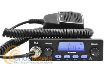 TRANSCEPTOR DE 27 MHZ. TTI TCB-550N