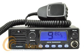 TTI TCB-900 EMISORA DE CB-27 BANDA CIUDADANA AM/FM MULTINORMA, 12/24 V