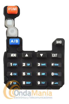 TECLADO FRONTAL UV-5R